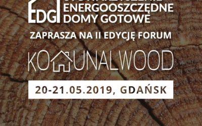 Zapraszamy na Forum KOMUNALWOOD 2019