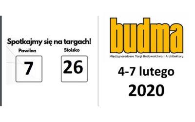 Międzynarodowe Targi Budownictwa i Architektury BUDMA 2020